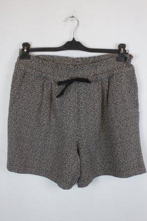 Ganni Shorts Gr. M schwarz braun meliert (18/3/002/K)