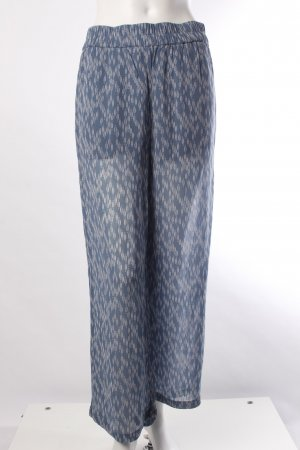 Ganni Stoffhose blau-weiß