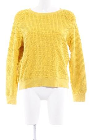 Ganni Sweatshirt dunkelgelb Casual-Look