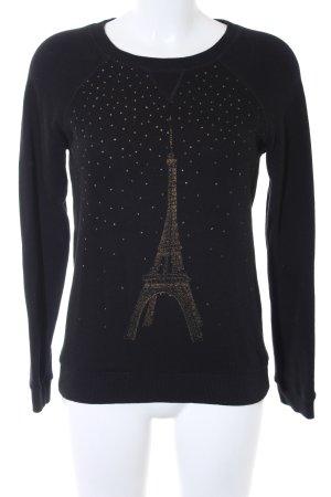 Ganni Sweatshirt schwarz Casual-Look