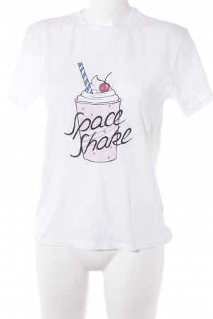 Ganni T-Shirt Schriftzug gedruckt Casual-Look