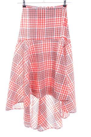 Ganni Wraparound Skirt allover print casual look