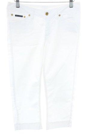 Gant Jeans 3/4 blanc cassé style simple