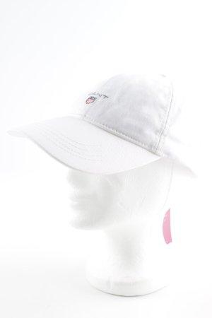 Gant Baseballpet wit casual uitstraling
