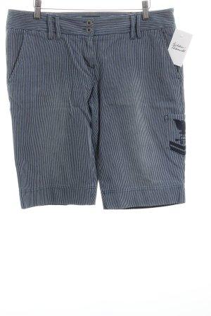 Gant Bermuda dunkelblau-weiß Streifenmuster Marine-Look
