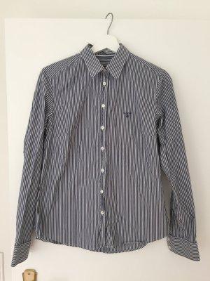 GANT Bluse blau-weiß gestreift, Größe 40
