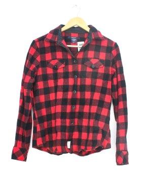 Gant Chemise de bûcheron rouge-noir