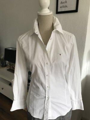 Gant Long Sleeve Blouse white mixture fibre