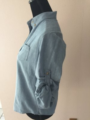 Gant Bluse Langarm Kurzarm  Blau