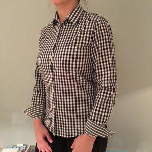 Gant Bluse mit schwarz/weiss Karo