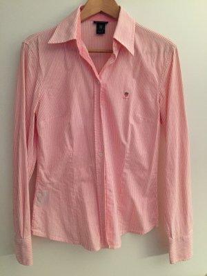 GANT Bluse rosa gestreift 38