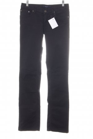 Gant Boot Cut Jeans schwarz Casual-Look