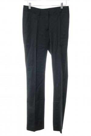 Gant Bundfaltenhose schwarz Business-Look