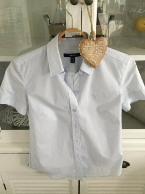 Gant Short Sleeved Blouse azure