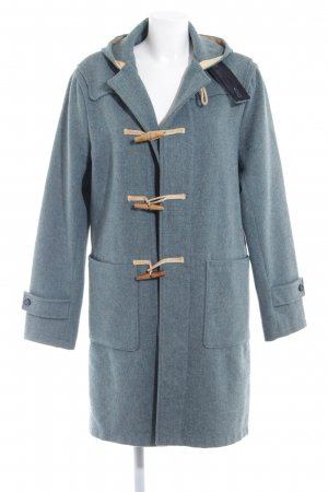 Gant Duffel Coat cadet blue casual look
