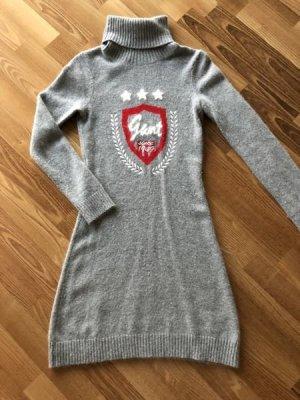 Gant Knitted Dress light grey-red mixture fibre