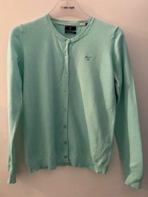 Gant Short Sleeve Sweater turquoise