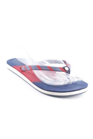 Gant Flip-Flop Sandals dark blue-dark red casual look