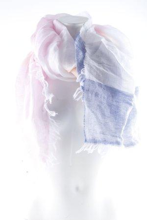 Gant Sciarpa con frange motivo a righe stile casual