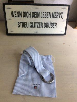 Gant # Gürtel # Blau # Weiß # Sommer