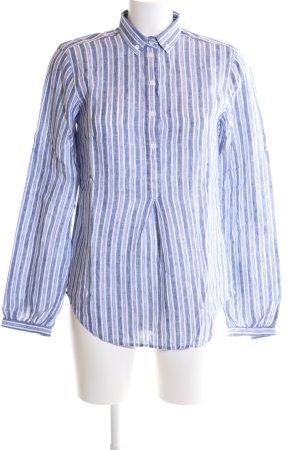 Gant Hemd-Bluse blau-weiß Streifenmuster Business-Look