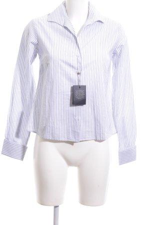 Gant Hemd-Bluse weiß-blau Streifenmuster Business-Look