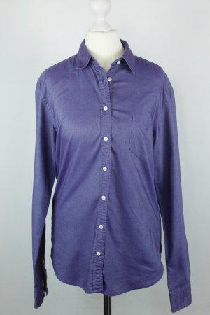 Gant Hemd Bluse Gr. 38 lila