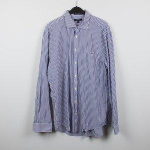 Gant Hemd Bluse Gr. XL blau weiß gestreift (18/11/293/K)