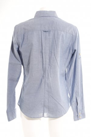 Gant Hemd-Bluse graublau Business-Look