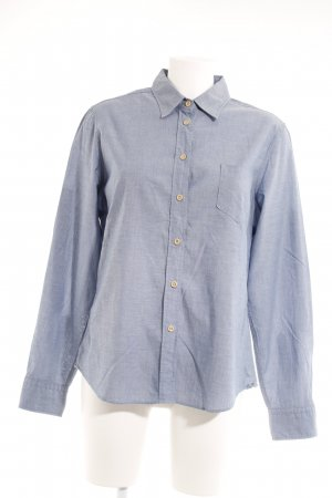 Gant Hemd-Bluse graublau Business-Look