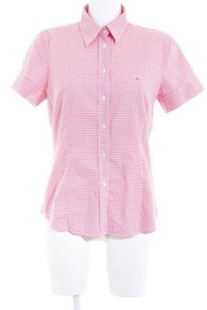 Gant Hemd-Bluse rosa-weiß Karomuster Brit-Look