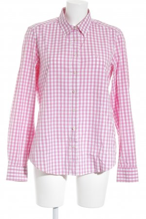 Gant Shirt Blouse pink-white check pattern business style
