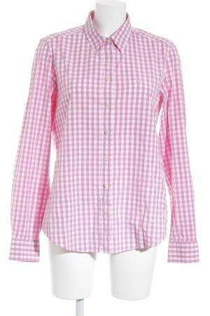 Gant Hemd-Bluse rosa-weiß Karomuster Business-Look