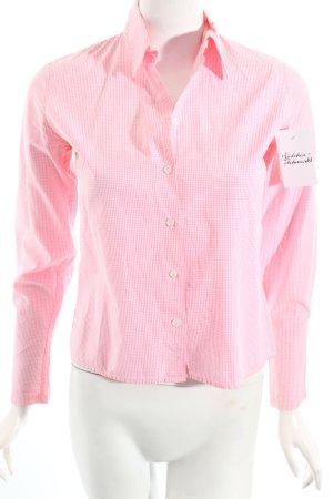Gant Hemd-Bluse rosa-weiß Vichykaromuster klassischer Stil