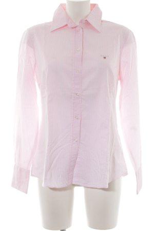 Gant Hemd-Bluse rosé-weiß Streifenmuster Casual-Look