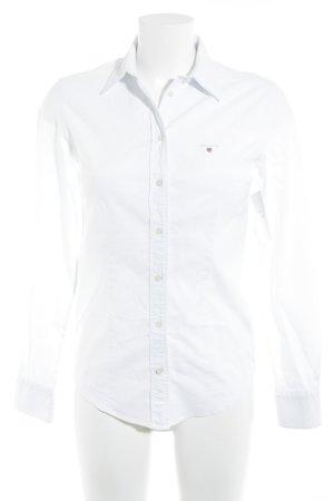 Gant Hemd-Bluse weiß Casual-Look