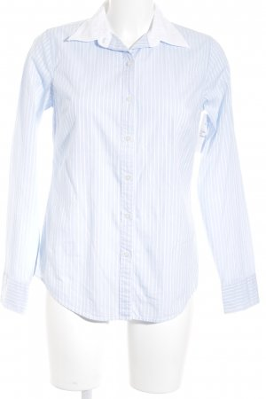 Gant Hemd-Bluse weiß-himmelblau Business-Look
