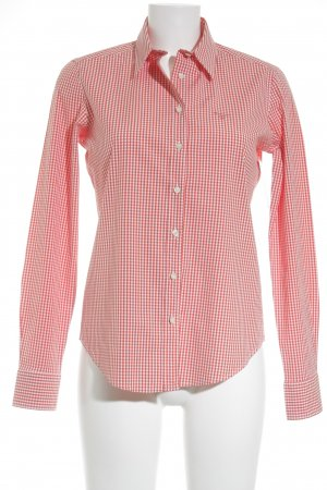 Gant Hemd-Bluse weiß-orange Business-Look