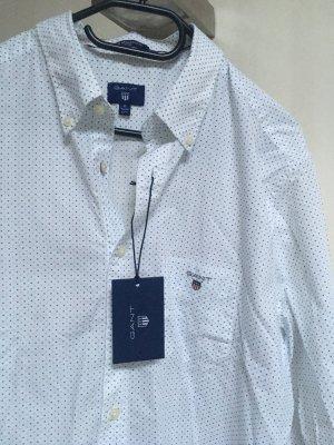 Gant Camisa de manga larga blanco