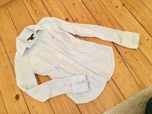 Gant Hemdbluse, blau/weiß gestreift