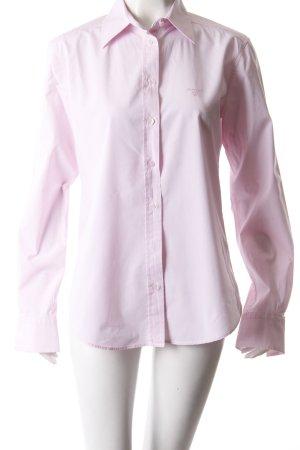 Gant Hemdbluse rosa Kragen