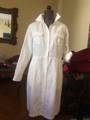 Gant Hemdblusenkleid Gr. 42 cremeweiß