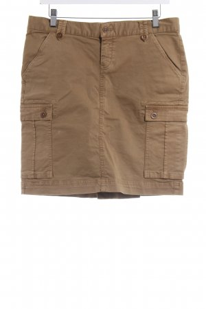 Gant High Waist Rock hellbraun Safari-Look