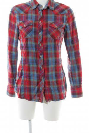 Gant Lumberjack Shirt red-blue allover print casual look