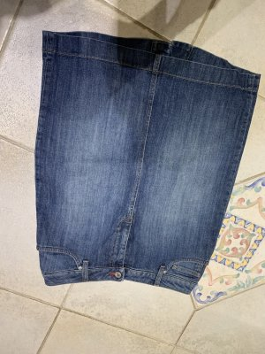 Gant Jupe en jeans bleu acier