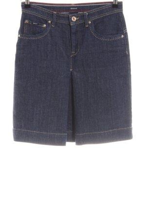 Gant Jeansrock blau Casual-Look