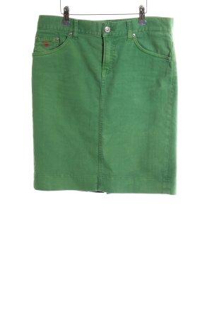 Gant Jeansrock grün Street-Fashion-Look
