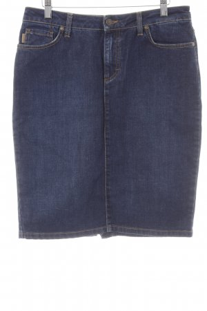 Gant Jeansrock dunkelblau Washed-Optik