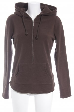 Gant Hooded Sweatshirt dark brown casual look