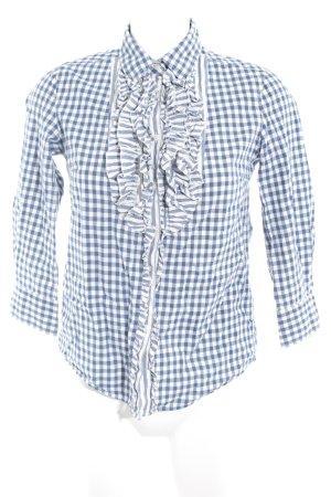 Gant Karobluse blau-weiß Karomuster Business-Look